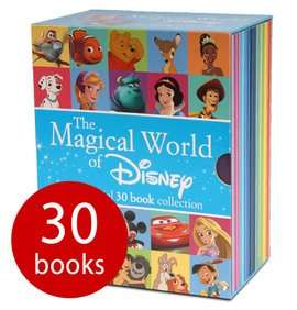 The Magical World of Disney Collection - 30 Book Slipcase £15.29 delivered with codes @ The Book People [Frozen / Toy Story / Brave / Dumbo / Tangled / Aladdin & loads more]