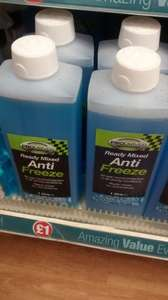 poundland ProDriver ready mixed antifreeze 1 litre - £1.00