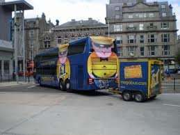 megabus glasgow to london £1 plus 50p booking fee