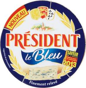 Président Le Bleu Cheese (145g) was £1.89 now £1.00 @ Ocado