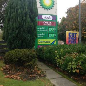 Cheap day for petrol if ur near the Craig's roundabout @ BP (Stirling)