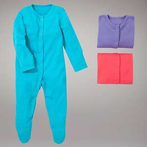 John Lewis Baby Plain Sleepsuits, Pack of 3 £3.00 was £10.00 Tiny Baby size, Free C&C might be good for Dolls dress up!!