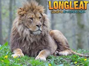 Longleat safari Park tickets £21 (RRP £31.95) adults, £16 child @ Amazon Local