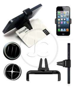 In car vent mobile phone holder air frame iphone 6 plus and various other smartphones  £2.49 del @ ebay via justcasesuk