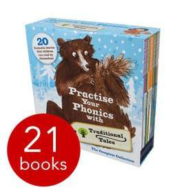 Practise Your Phonics with Traditional Tales (Collection) 21 Books (Oxford Reading Tree Scheme) £17.10 delivered @ The Book People