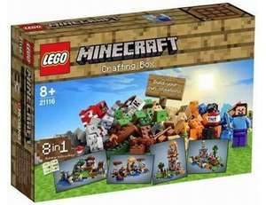 New minecraft lego on pre order from Wonderland Toys £49.99