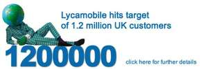 Unlimited UK Minutes + Unlimited Text + 5GB of 4G Data for £15 @ Lycamobile