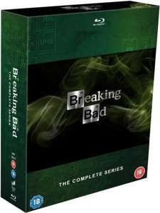 Breaking Bad - Seasons 1-5 (Includes UltraViolet Copy) Blu-ray for £49.99 with code @ Zavvi (even cheaper if you have discount code or for new customers)