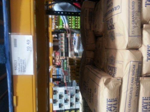 Tate&Lyle sugar 25kg - £10.49 @ Costco
