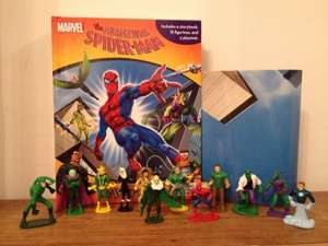 Spiderman Busy Book, 12 figures & play mat £3.99 @ B&M