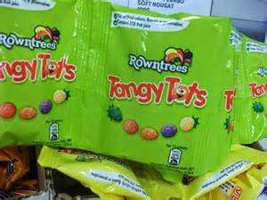 Two 8 bag packs of Rowntrees Jelly/Tangy/Chewy Tots for £1 at Farmfoods