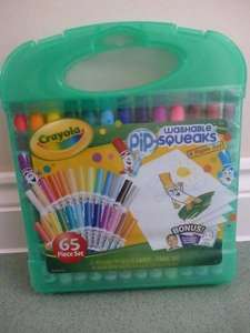 Crayola Pip-Squeaks 65 piece carry case £2.50 in store @ Tesco