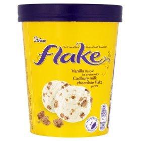 Cadbury Flake Ice Cream 480ml Tub - £1.50 at Asda