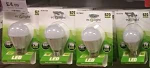 LED Bulbs by EcoLight In Store @ Home Bargains £2.49 to £4.99