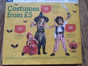 Kids Halloween Costumes Pirate Witch Devil from £5 @ Morrisons ( from 20th Oct)