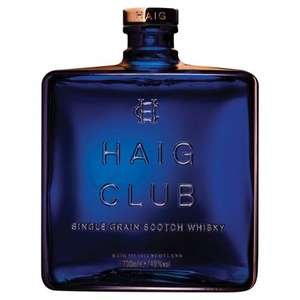 Morrisons: Haig Club Whisky 70cl £40