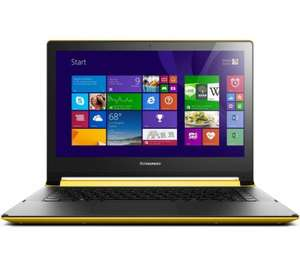 "Lenovo Flex 2 14"" Convertible Touchscreen Laptop - Yellow at Currys for £399.99"