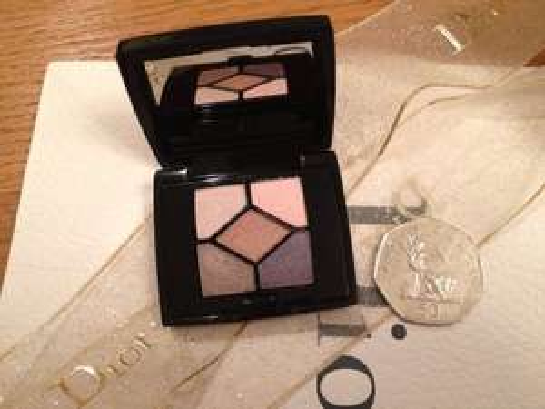 Christian Dior Mini Eye Shadow Palette @ delilahsdesirables eBay £12.50 Only 2 Left!