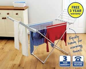 Heated Airer at ALDI - £29.99 (From 19th Oct)