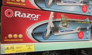 Razor A Kick scooter £35 down to £8.75 @ Tesco (in stores)