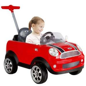 Mini Cooper Push Buggy half price @ toysrus.co.uk just £64.99 using code