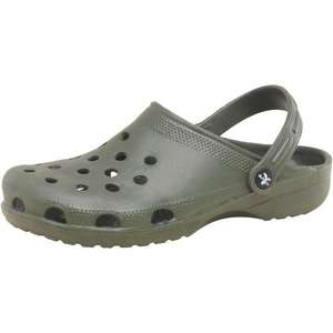 Mad Wax Mens Sharkies Khaki (Like Crocs). £3.99 plus 3.99 delivery @ M&M Direct