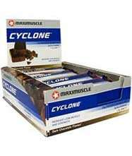 Maximuscle Cyclone Bars Short Dated - Discount Supplements £5.99 Delivered