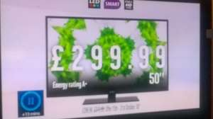 "Bush 50"" Full HD LED TV £299 @ argos from 15th to 21st Oct + free £10 argos voucher"
