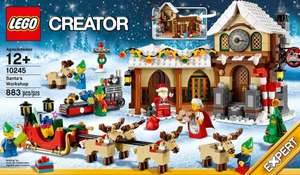 Lego 10245 - Santa's Workshop £59.99 + Free Toy Workshop (40106) + Double VIP Points + Free P&P @ Lego Shop