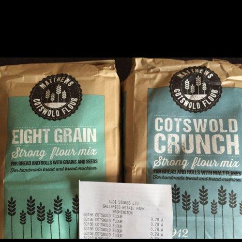 Cotswold Bread Flours 1.5kg 79p @ Aldi