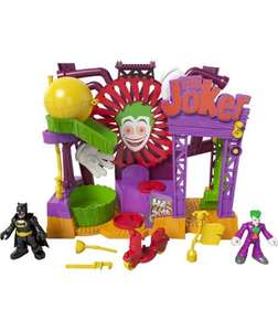Fisher Price Imaginext DC Super Friends Joker Laff Factory £14.99 @ Argos