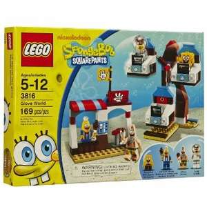 LEGO SpongeBob Square Pants Glove World 3816 £12 @ Tesco Direct