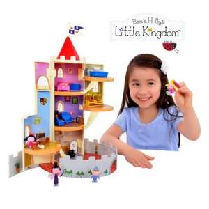 Pre-Order: Ben and Holly Large castle £29.99 Free Delivery @ Golden Bear Toys