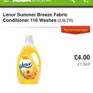 lenor fabric conditioner asda £4 @ Asda