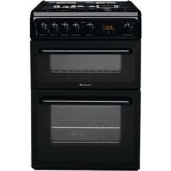Hotpoint HAG60K, Black, Gas Cooker, Double Oven, 60cm - £309 delivered @ Tesco + 1.57% TCB + 10-year guarantee on all parts