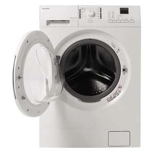John Lewis JLWM1205 Slim Depth Washing Machine, 7kg Load, A+++ Energy Rating, 1200rpm Spin, White - £329