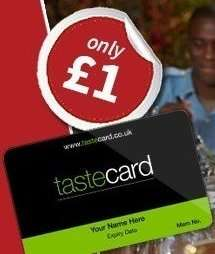 Tastecard £1 for 3 Months (TODAY ONLY!)