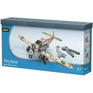 Brio Builder 34563 airplane £9.99 at TK Maxx online (RRP £24.99 according to BRIO)