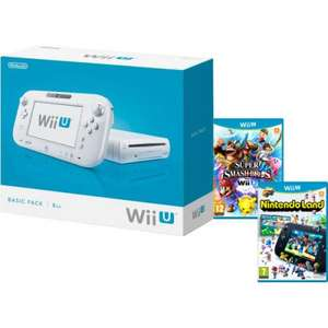 Nintendo Wii U Console - Includes Super Smash Bros. + Nintendo Land £179.99 @ Zavvi