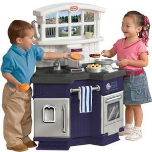 Less Than Half Price Little Tikes Side By Side Kitchen Was £119.99 Now Only £54.99 Using Code Including Free Delivery @ Toys R Us