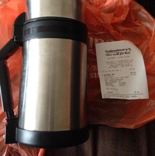 Thermo food flask @ Sainsburys