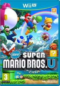 New Super Mario Bros Wii U £12.59 @ zavvi with code