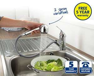 Extending Kitchen Mixer Tap at ALDI - £24.99