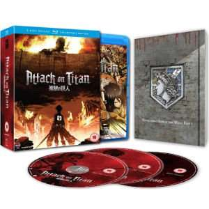 Attack on Titan Part 1: Episodes 01-13 Blu-Ray Collector's Edition £22.49 (With code NEWZ) @ Zavvi