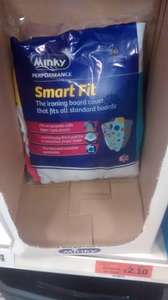 Minky smart fit ironing board cover £2.10 instore @ Sainsburys