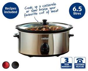 Large 6.5l slow cooker just £16.99 at Aldi from Thursday 23rd October