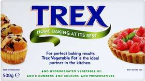TREX Vegetable Fat 500g Half Price Now 64p Instore @ Asda