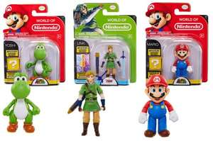 World of Nintendo Figures - £8 @ Toys R Us