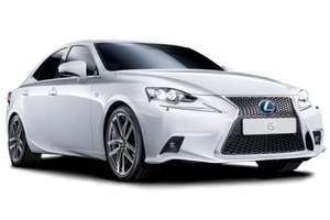 Lexus IS 300h hybrid car £2477.50 plus 18 payments of £249.28 (personal deal, all inclusive price) Two year lease £6964.54 @ allvehiclecontracts