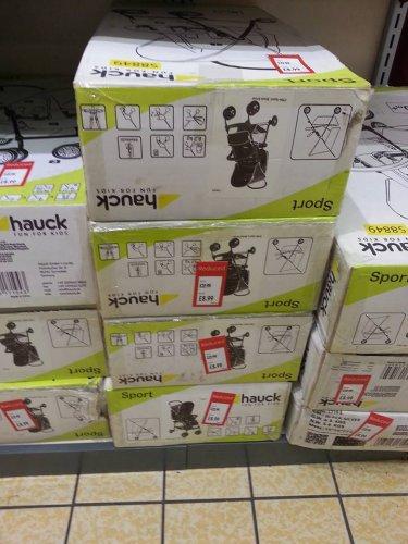 Hauck Sport buggy £8.99 @ Aldi Sutton